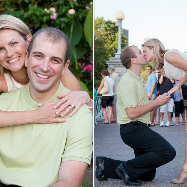 Jamie & Matt's Engagement | Boston Public Garden | Boston Engagement Photographer
