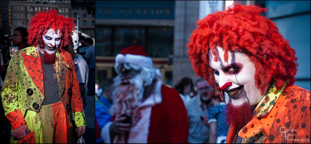 Zombies Invade Boston - Boston Zombie March 2012
