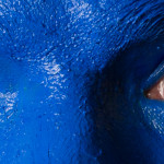 Blue Man Eyes