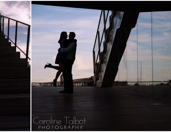 Deandra & Brett's Seaport Engagement Session