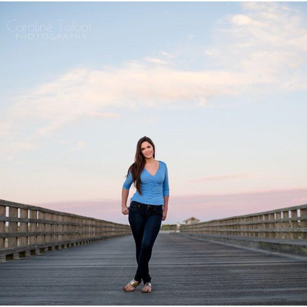 Jen's Duxbury Beach Senior Portrait Session