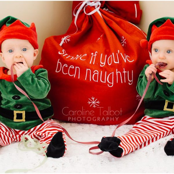 Happy Holidays from the newest elves of Caroline Talbot Photo!