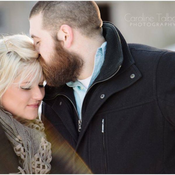 Janelle & Shawn's Winter Engagement Session!