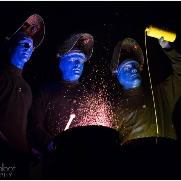 Blue Man Group Boston | Face painting, and drumming, and dance parties, oh my!