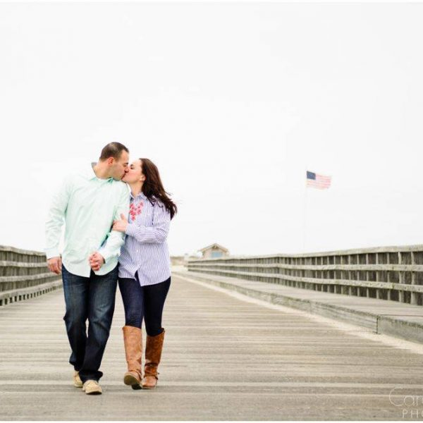 Jenn & Chris: Engaged on Duxbury Beach!