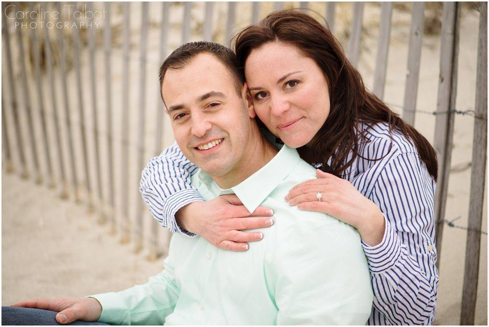 Duxbury Beach Engagement Session