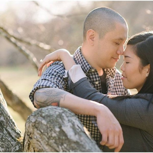 Tracy & Eddy's Wellesley College Engagement Session!