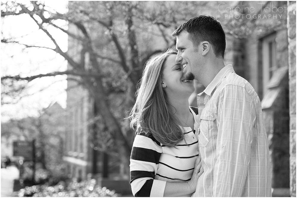 WPI Engagement Session by Caroline Talbot Photography | ctalbotphoto.com