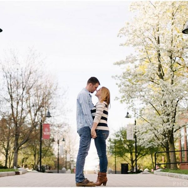Siobhan & Matt: Engaged at WPI!