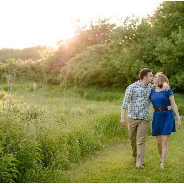 Stephanie & Dan are Engaged!  | Daniel Webster Wildlife Sanctuary Engagement Session