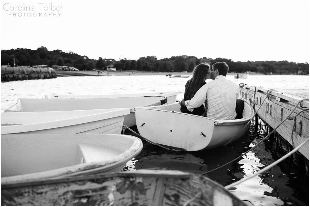 Hingham Harbor Engagement Session | ctalbotphoto.com