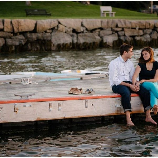 Dani & Alan: A Hingham Harbor Engagement Session