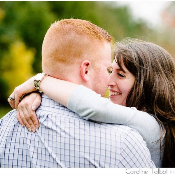 Nick & Leah: Engaged! | A Larz Anderson Engagement Session