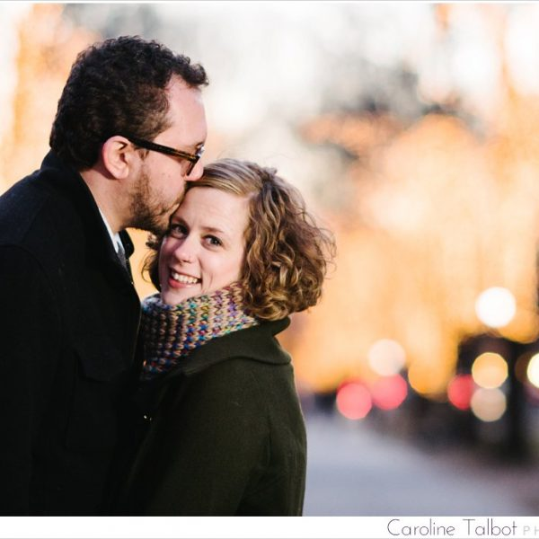 Kara & Brian: Engaged! | A Back Bay Engagement Session