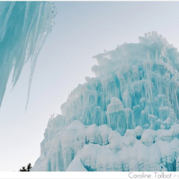 Excuse me, Spring?  Are you ever going to come out to play? | Ice Castles, NH