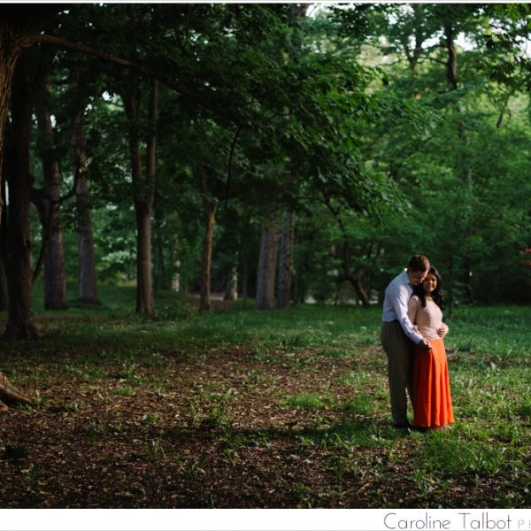 Annie & Tim: Engaged! | An Arnold Arboretum Engagement Session