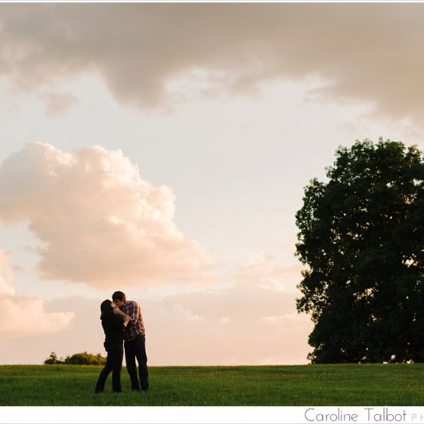 Kathryn & Phil: Engaged! | A Larz Anderson Engagement Session