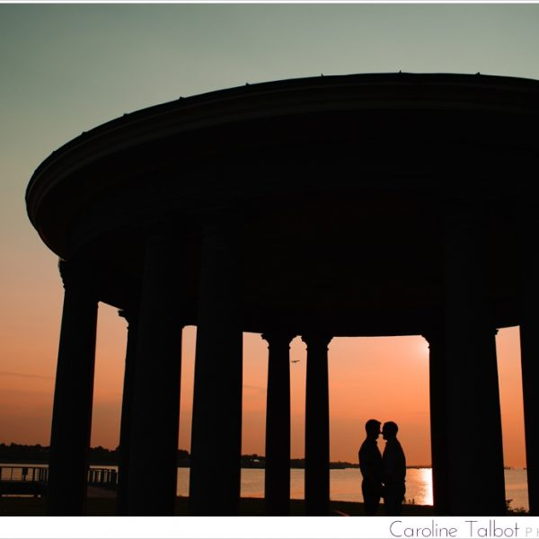Jeff & Chris: Engaged! |A South Boston Sunrise Engagement Session