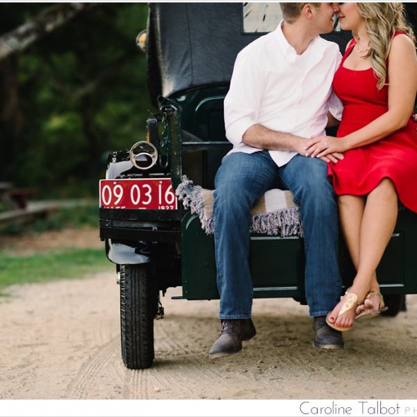 Sara & Jeff: Engaged! | A Sachem Rock Farm Engagement Session