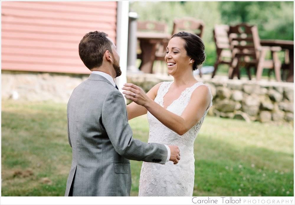 Smith Barn At Brooksby Farm Wedding by Caroline Talbot Photograp