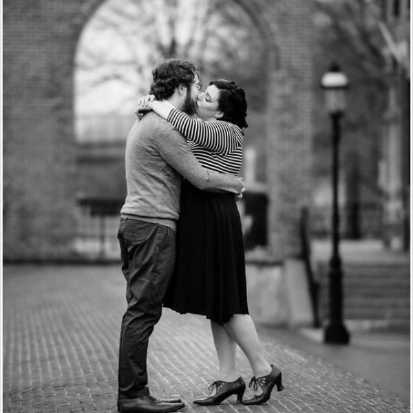 Jess & Matt: Engaged! | A Lowell MA Engagement Session