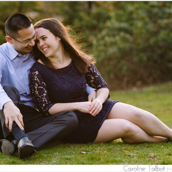 Amanda & Derek: Engaged! | A Tufts University Engagement Session