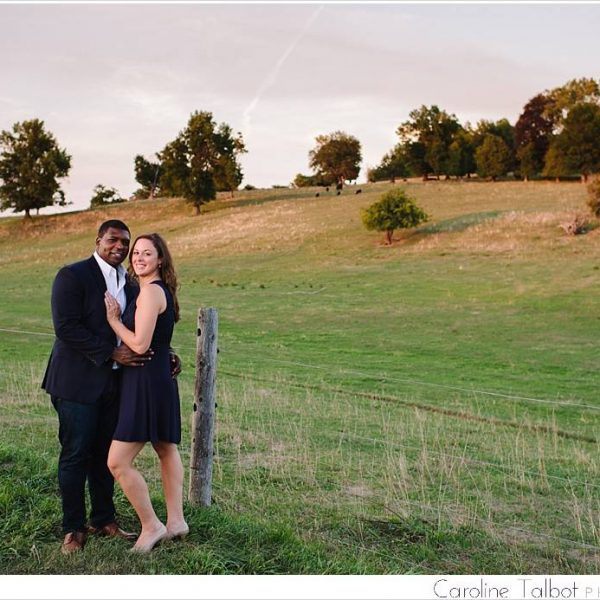 Laura & James: Engaged! | A Barn at Gibbet Hill Engagement Session