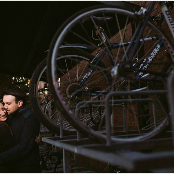 Christen & Alex: Engaged! | A Davis Square Engagement Session