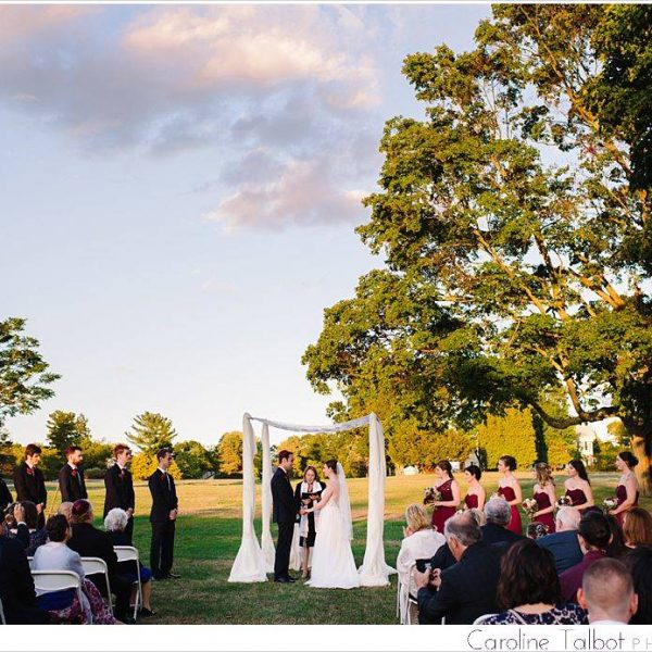 Rebecca & Eric: Married! | An Endicott Estate Wedding