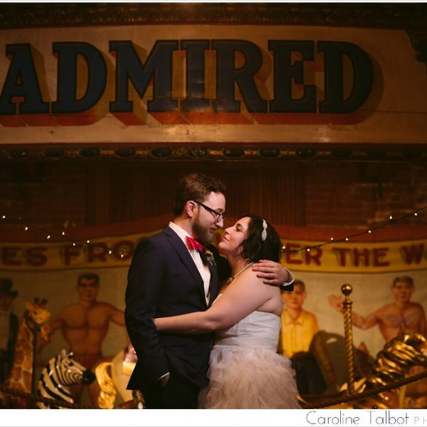 Jess & Matt: Married! | A New England Carousel Museum Wedding