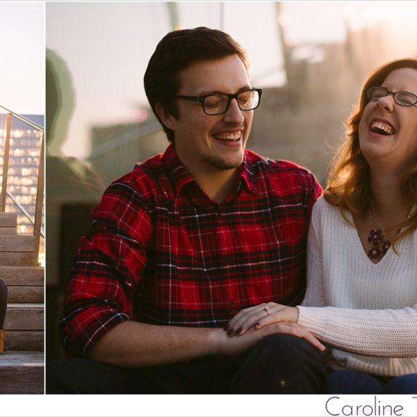 Alisha & Billy: Engaged! | A Boston Seaport Engagement Session